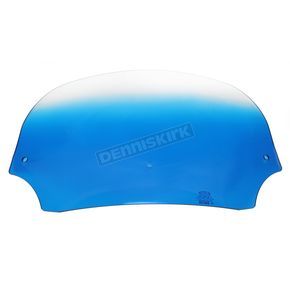 Memphis Shades 7 in. Gradient Blue Batwing Windshield for Batwing Fairing - MEP8516