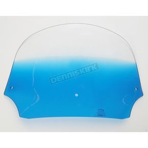 Memphis Shades 9 in. Gradient Blue Batwing Windshield for Batwing Fairing - MEP8526