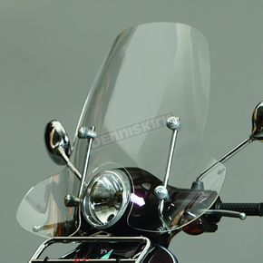 Prima 15 1/2 in. Clear Scooter Windshield - 0700-1004