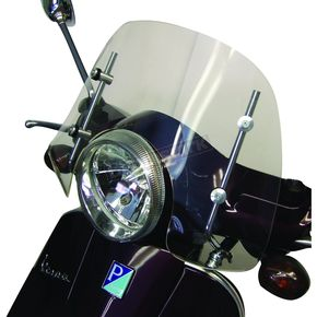 Prima 6 in. Clear Scooter Windshield - 0700-1006