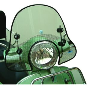 Cuppini 19 in. Clear Scooter Windshield - GTWS1