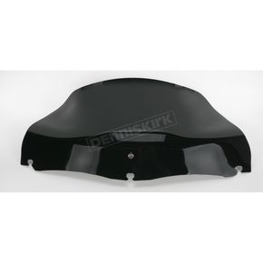 Klock Werks Black 8 1/2 in. Flared Windshield - 2310-0275