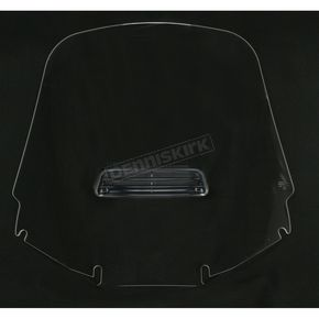 Memphis Shades Clear Tall Vented Windshield - 2312-0147