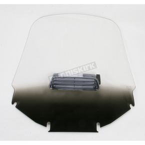 Memphis Shades Gradient Black Tall Vented Windshield - MEP4661