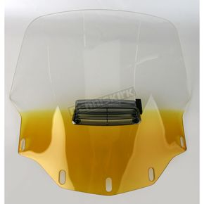 Memphis Shades Gradient Yellow Vented Windshield - MEP4755