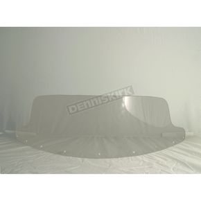 Rifle 10 in. Clear Cruise Style Windshield - 0.015.0002