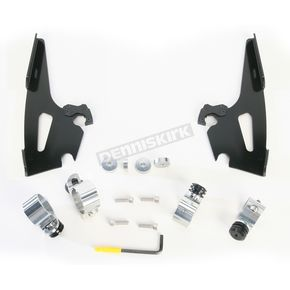 Memphis Shades Night Shades Black No-Tool Trigger-Lock Hardware Kits for Fats/Slim or Batwing - 2321-0272