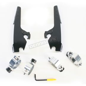 Memphis Shades Night Shades Black No-Tool Trigger-Lock Hardware Kits for Fats/Slim - MEB1960