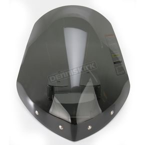 National Cycle Dark Tint 14 1/2 in. Gladiator Windshield w/Chrome Mounts - N2713