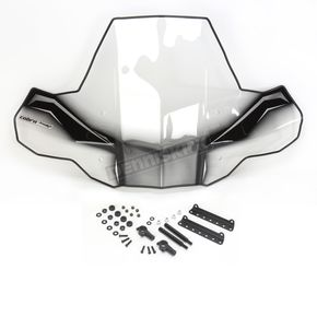PowerMadd Cobra ProTek Standard Mount ATV Windshield w/o Headlight Cut-Out - 24571