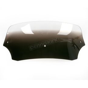 Memphis Shades 5 in. Ghost Batwing Spoiler Windshield for Batwing Fairing - 2350-0168