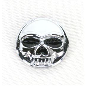 Kuryakyn Chrome Emblem for Zombie Windshield Trim - 1189