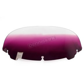 Memphis Shades Gradient Purple 7 in. Replacement Plastic for use with OEM Harley Davidson Windshield Hardware - MEP8164