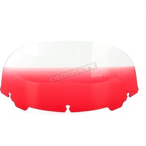 Memphis Shades Gradient Ruby 9 in. Replacement Plastic for use with OEM Harley Davidson Windshield Hardware - MEP8172