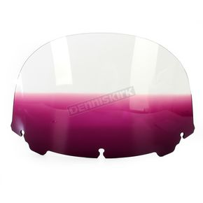 Memphis Shades Gradient Purple 12 in. Replacement Plastic for use with OEM Harley Davidson Windshield Hardware - MEP8184