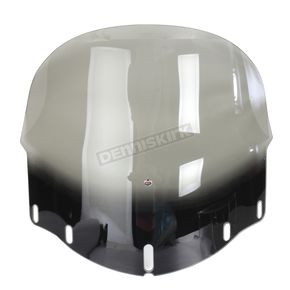 Tinted 16 in. Flare Non-Vented Windshield - 2312-0253