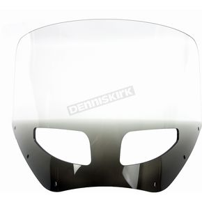 Memphis Shades 11 in. Ghost Vented Windshield for Road Warrior Fairing - MEP87408