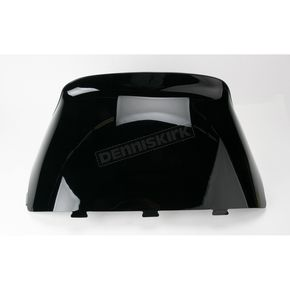 Sno-Stuff 19 1/4 in. Low-Cut Gloss Black Windshield - 450-455-50