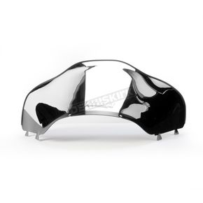 Cobra 16 in. Low Chrome Windshield - 14222
