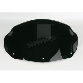 Sno-Stuff 11 1/4 in. Low-Cut Gloss Black Windshield - 450-482-50