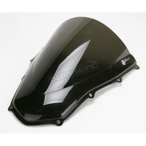 Zero Gravity Dark Smoke Double Bubble Windshield - 16-972-19