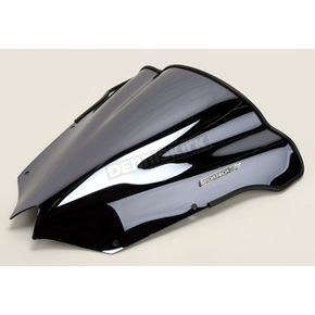 Sportech V-Flow Series Black Chrome Windshield - 4549-1098