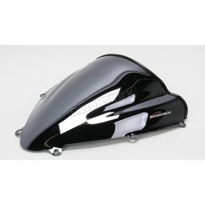 Sportech V-Flow Series Black Chrome Windshield - 45501141