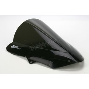 Zero Gravity Dark Smoke Double Bubble Windshield - 16-262-19