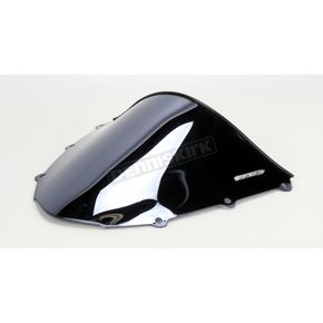 Sportech V-Flow Series Black Chrome Windshield - 4547-1066