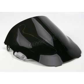 Moto Brackets Smoke Acrylic Windscreen - WSAS501