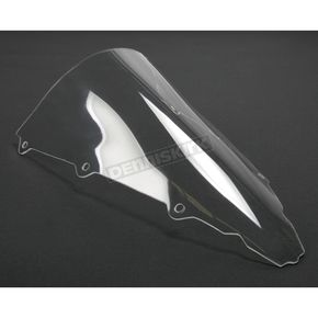 Moto Brackets Clear Acrylic Windscreen - WSAC807
