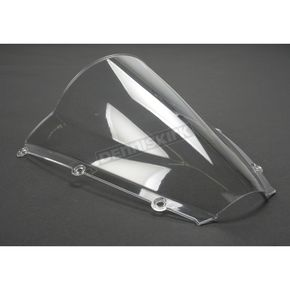 Moto Brackets Clear Polycarbonate Windscreen - WSPC504