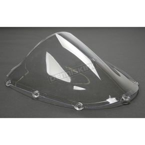 Moto Brackets Clear Polycarbonate Windscreen - WSPC512