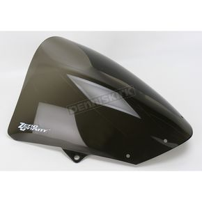 Zero Gravity Corsa Smoke Windshield - 24-262-02