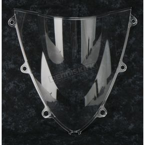 Moto Brackets Clear Polycarbonate Windscreen - WSPC517