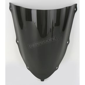 Moto Brackets Smoke Polycarbonate Windscreen - WSPS609
