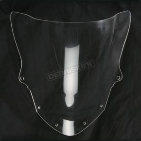 Moto Brackets Clear Acrylic Windscreen - WSAC616