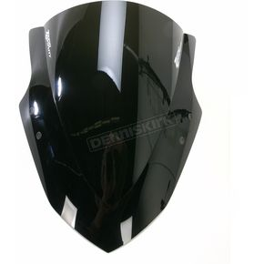 Zero Gravity Dark Smoke Double Bubble Windscreen - 16-282-19
