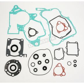 Moose Complete Gasket Set with Oil Seals - 0934-0450
