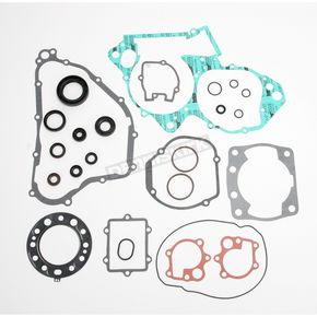 Moose Complete Gasket Set With Oil Seals - 0934-0459