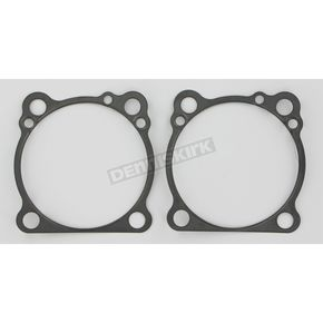 Single-Layer Steel (SLS) Base Gaskets w/3 5/8 in. bore, .010 in - C9554