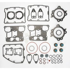 Cometic Top End Gasket Set for 95 in. or 103 in. Big Bore Kit and Hat-Style Valve Stem Seals - C9147