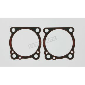 Cylinder Base .16 in. Rubber Coated Metal Gasket w/Bead - 16774-96-XT1