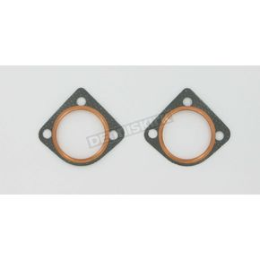 Genuine James 3 Bolt Standard Exhaust Seals - 65834-68-STD