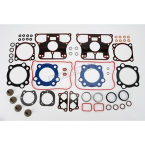 Genuine James Top End Gasket Set w/Metal Base and Rocker Gaskets - 17049-07-X