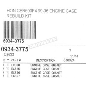 Cometic Lower End Gasket Kit - C8633