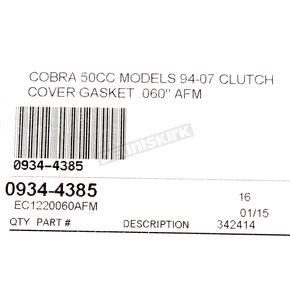 Cometic Clutch Cover Gasket - EC1220060AFM