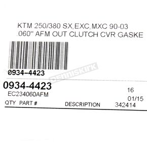 Cometic Clutch Cover Gasket - EC234060AFM
