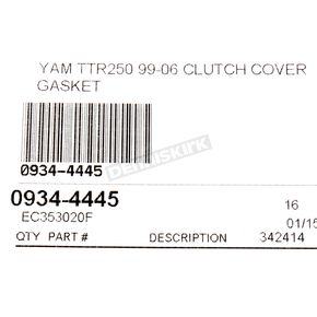 Cometic Clutch Cover Gasket - EC353020F