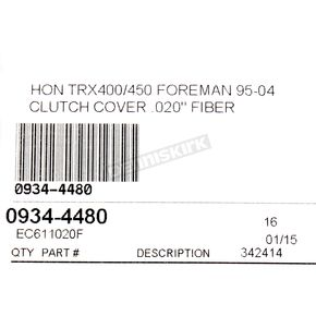 Cometic Clutch Cover Gasket - EC611020F